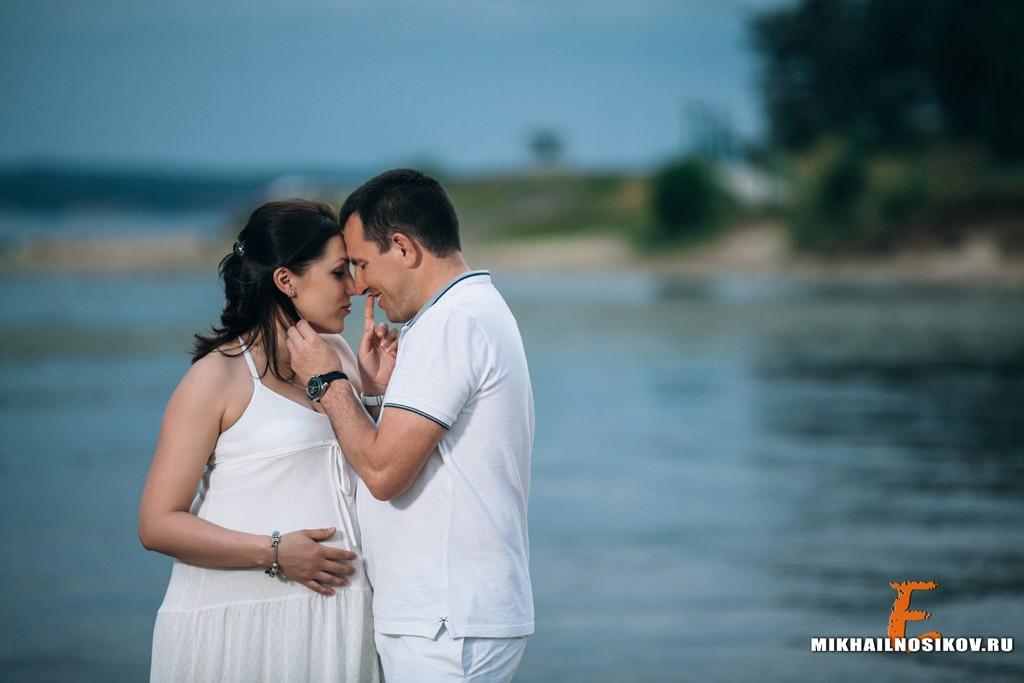 фотосессия беременности на природе