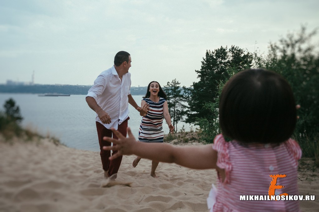 фотосессия с ребенком на природе