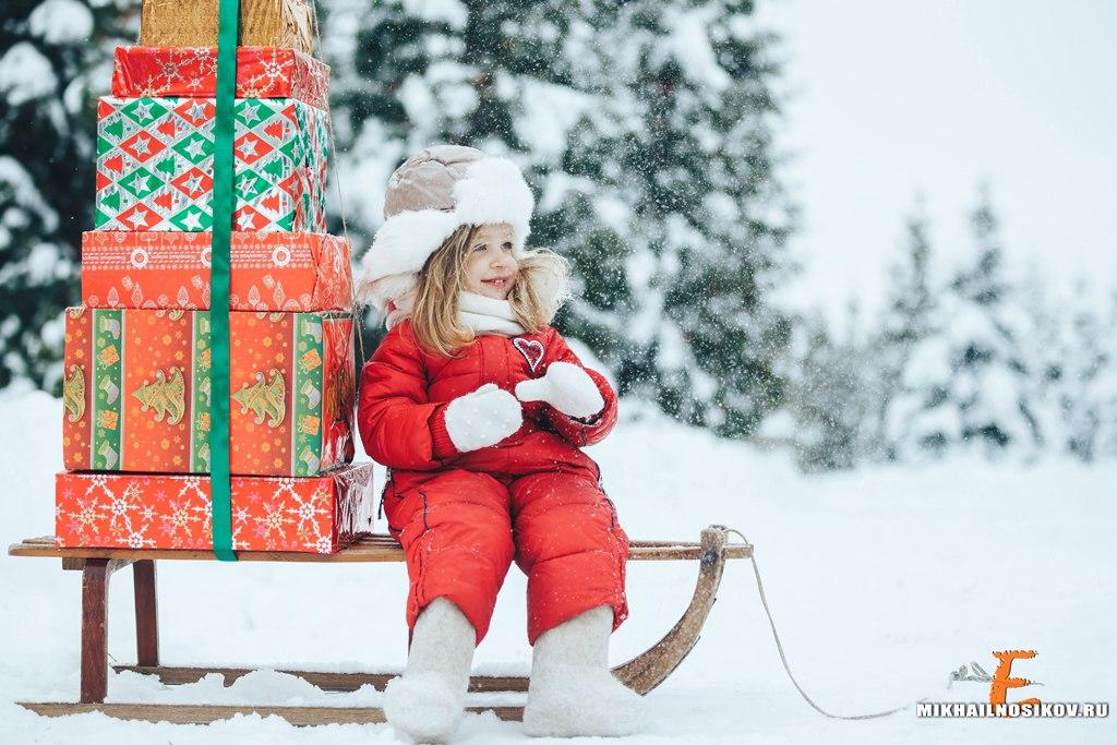 Зимняя фотосессия
