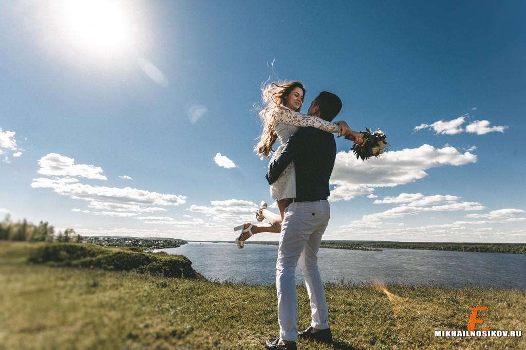 Свадебная фотосессия в Мариинском Посаде