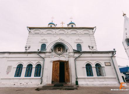 Фотосессия крещения в Введенском соборе