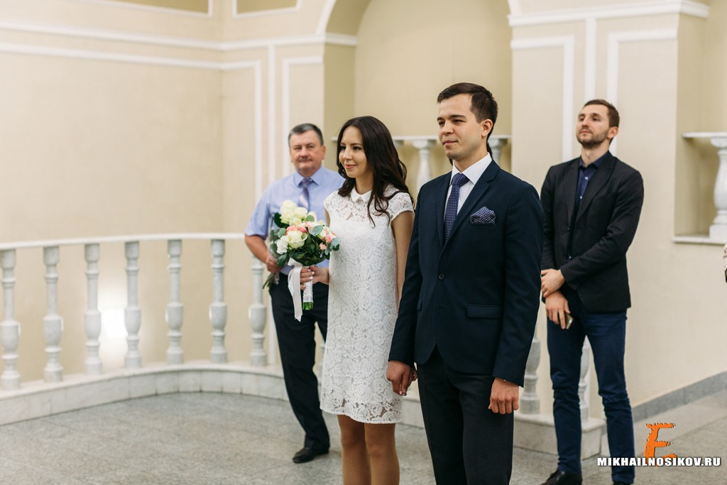 Фотосессия регистрации свадьбы в Чебоксарах