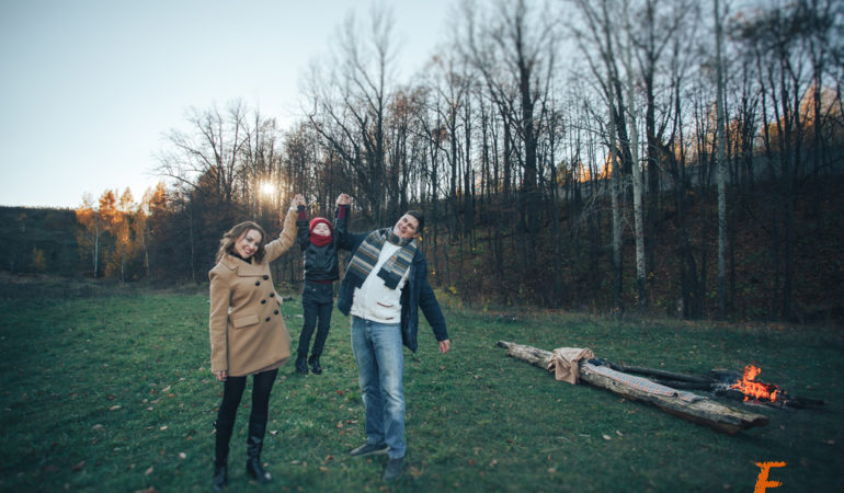 Осенняя фотосессия: идеи