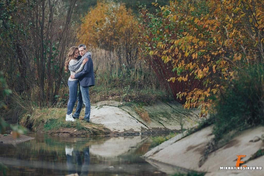 Осенняя фотосессия пары Чебоксары