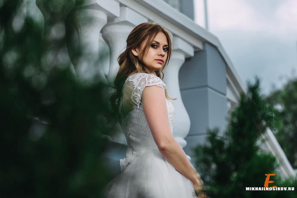 Свадебная фотосессия - невеста