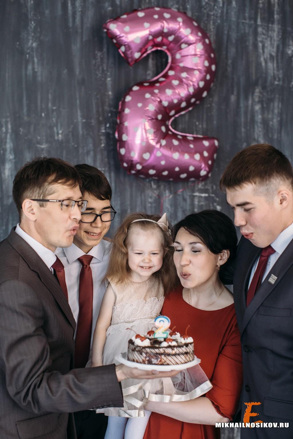 Фотосессия на день рождения ребенка