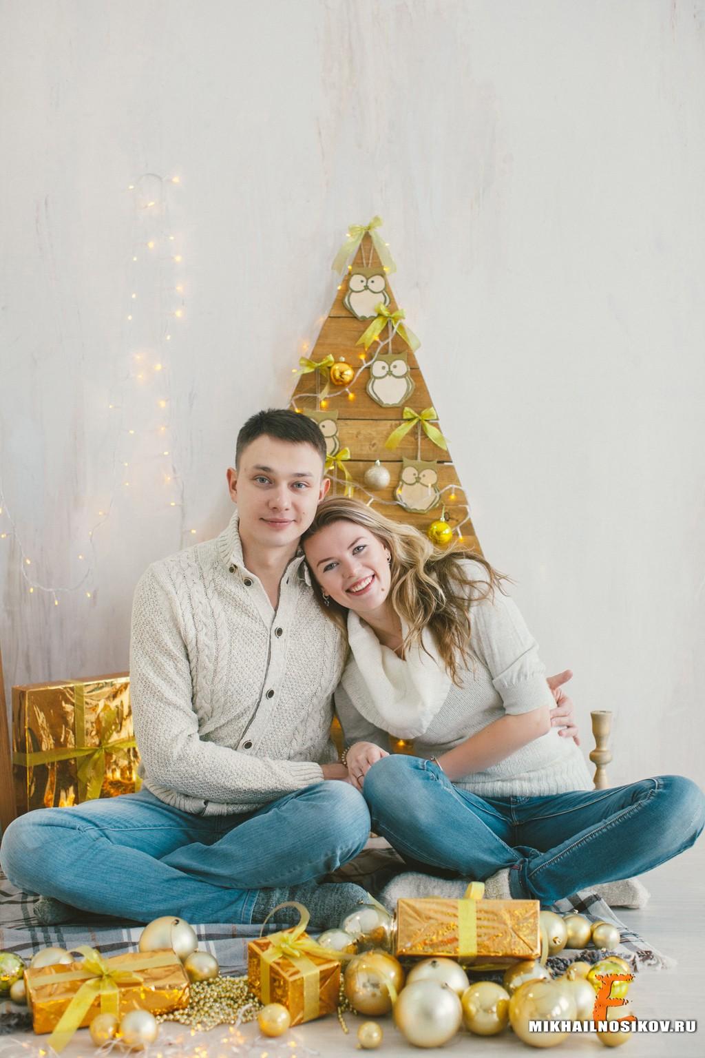 Фотосессия семейной пары в подарок
