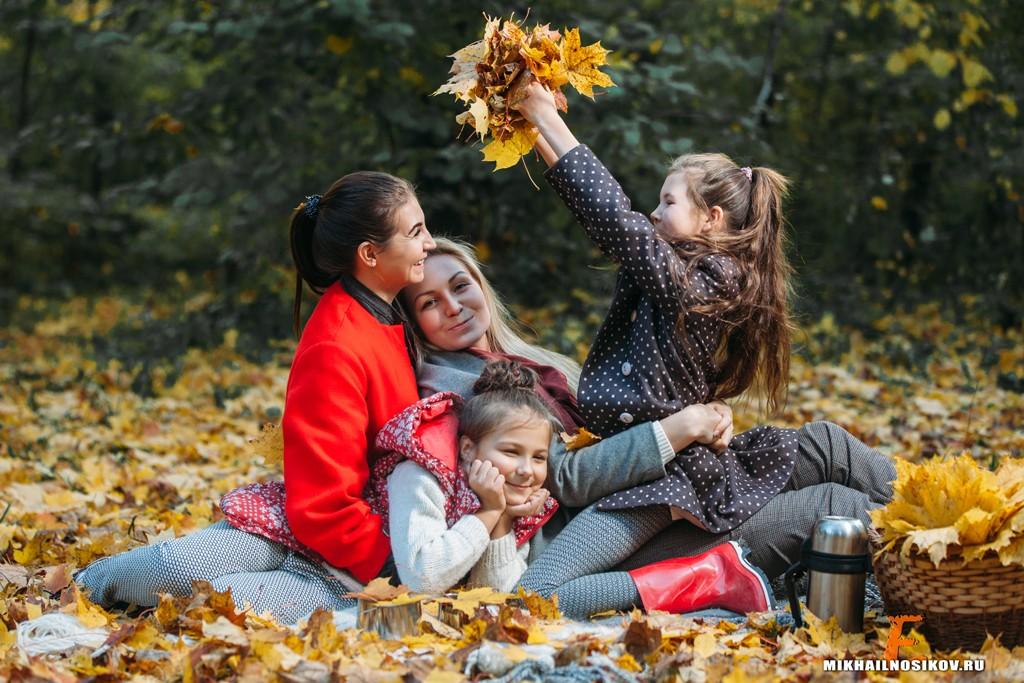 Осенние фотосессии в Чебоксарах