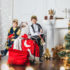 Семейные новогодние фотосессии