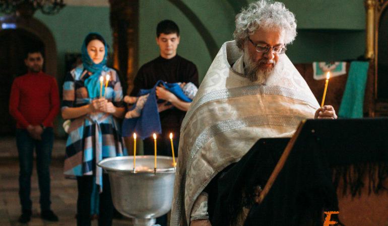 Фотограф на крещение ребёнка