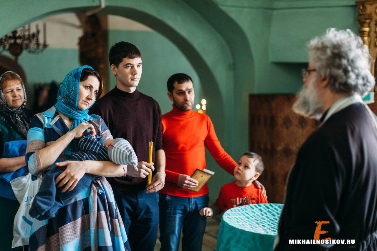 Крещение ребенка Чебоксары