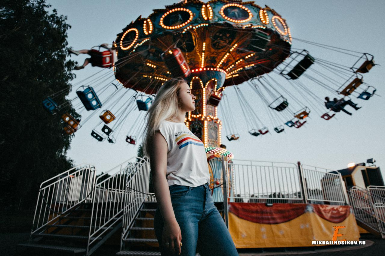 фотосессия в парке