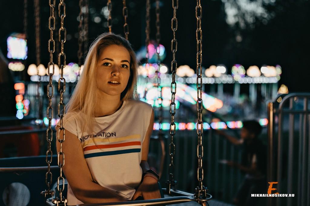 фотосессия в парке аттракционы