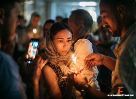 Крещение в Церкви Святых Новомучеников и Исповедников Российских