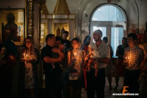 Крещение в Церкви Святых Новомучеников