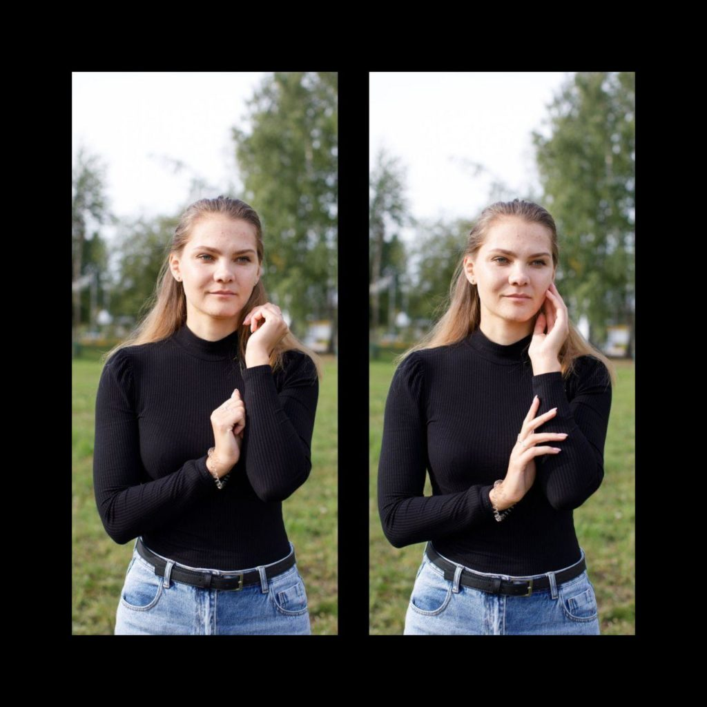 фотосессия позирование: руки