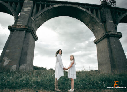 Фотосессия на Мокринском мосту